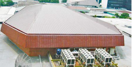Atap TECU Gedung MPR-RI.