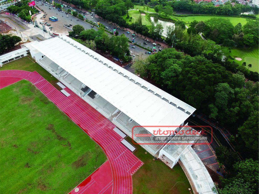 Tribun Barat Stadion Madya GBK