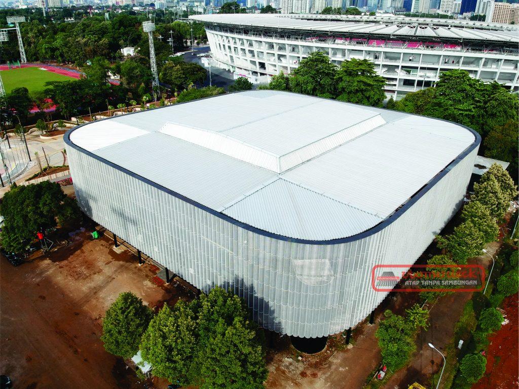 Arena Tennis Indoor Kompleks Olahraga GBK.