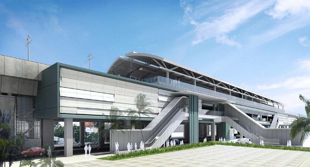 Ilustrasi Stasiun MRT Lebak Bulus.