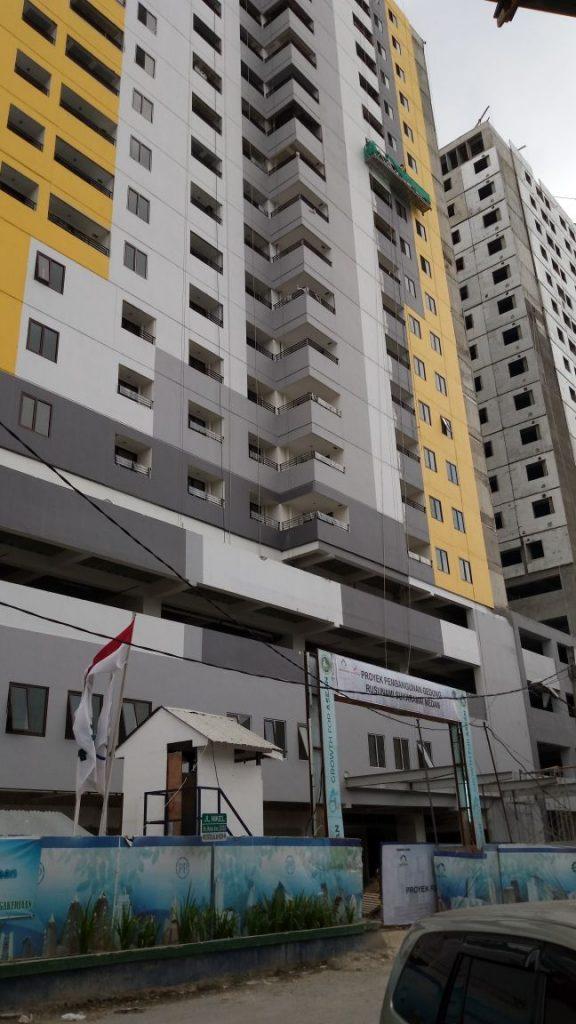 Apartemen Sentraland Medan.