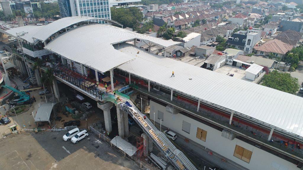 Stasiun LRT Jakarta Kelapa Gading Boulevard