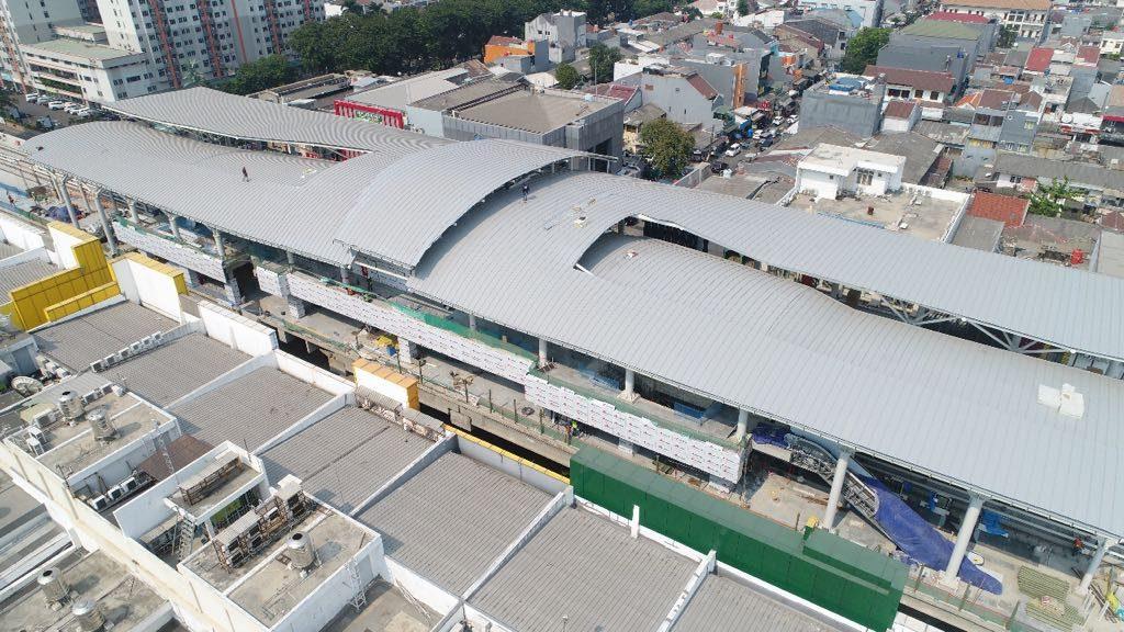 Stasiun LRT Jakarta Kelapa Gading Mall