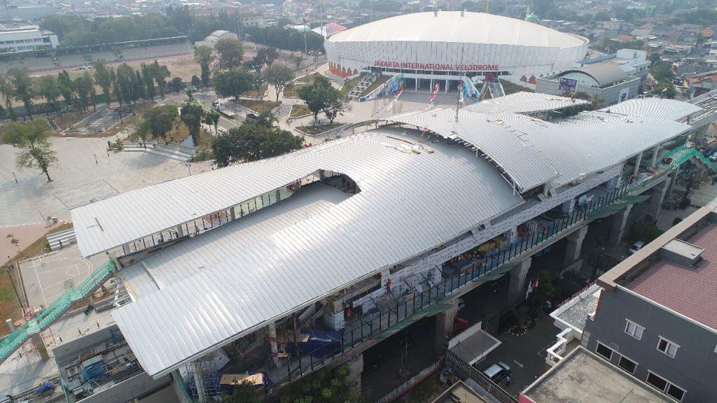 Stasiun LRT Jakarta International Velodrome
