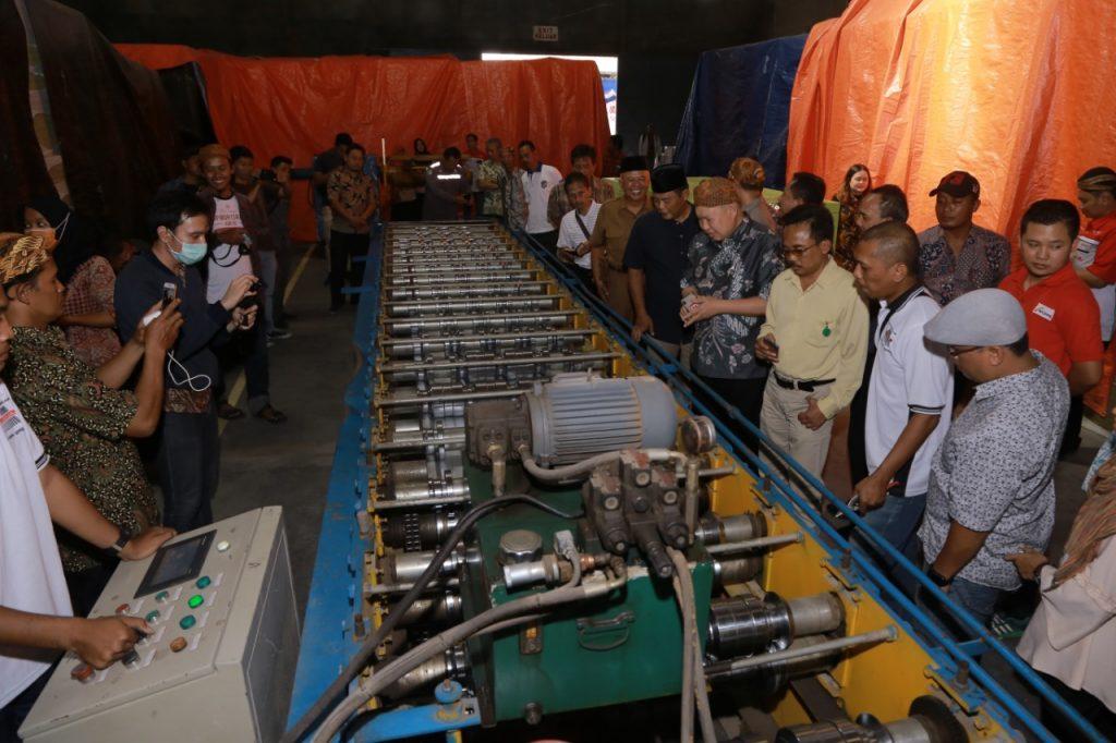 Pembukaan Pabrik PT. Utomodeck Metal Works di Karanganyar