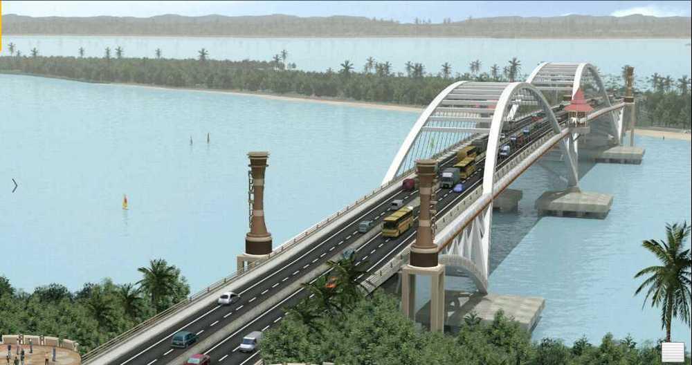 Gambar Konsep Jembatan Holtekamp
