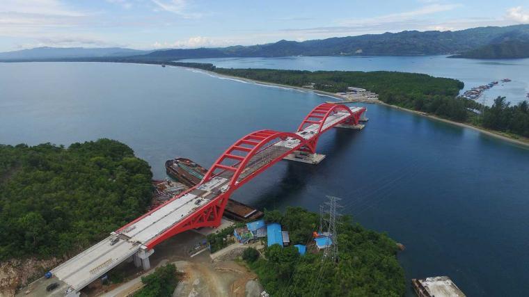 Jembatan Holtekamp Sedang Dalam Proses Pengerjaan